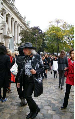 James Goldstein @ Chanel fashion show