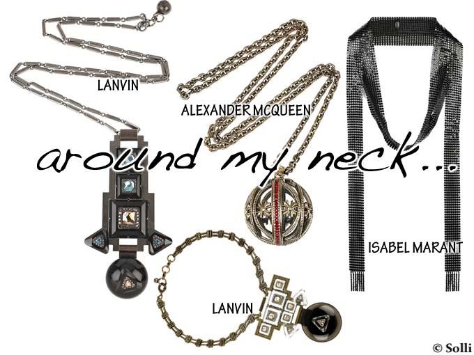 Lanvin, Isabel Marant, Alexander McQueen