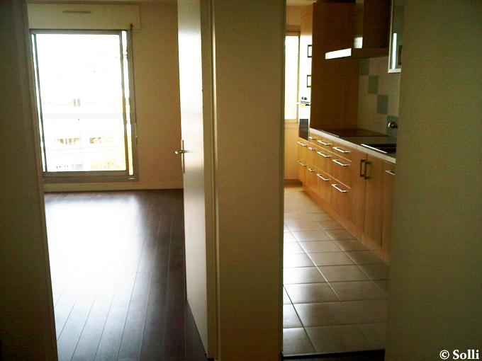 my new apartment in Château de Vincennes!
