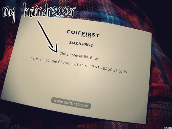best hairdresser in Paris, Christophe Monteiro, best hairdresser, Paris