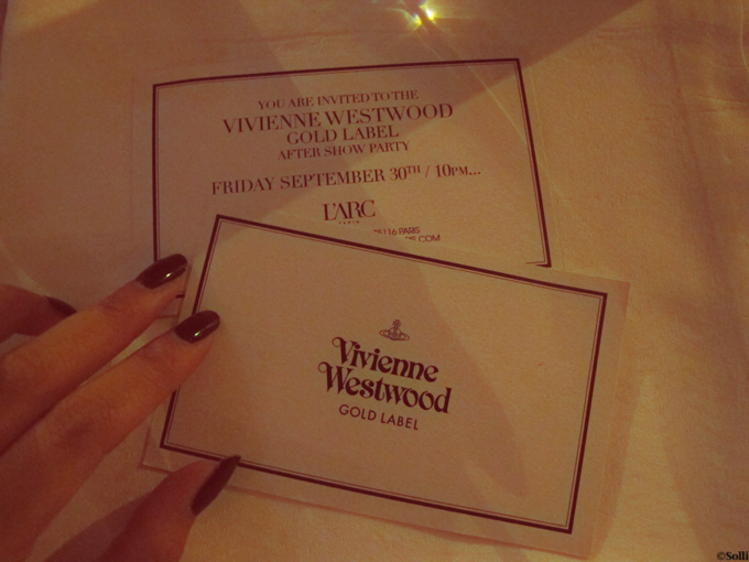 Vivienne Westwood party at L'ARC