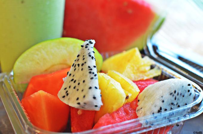 Fruitsalad deluxe