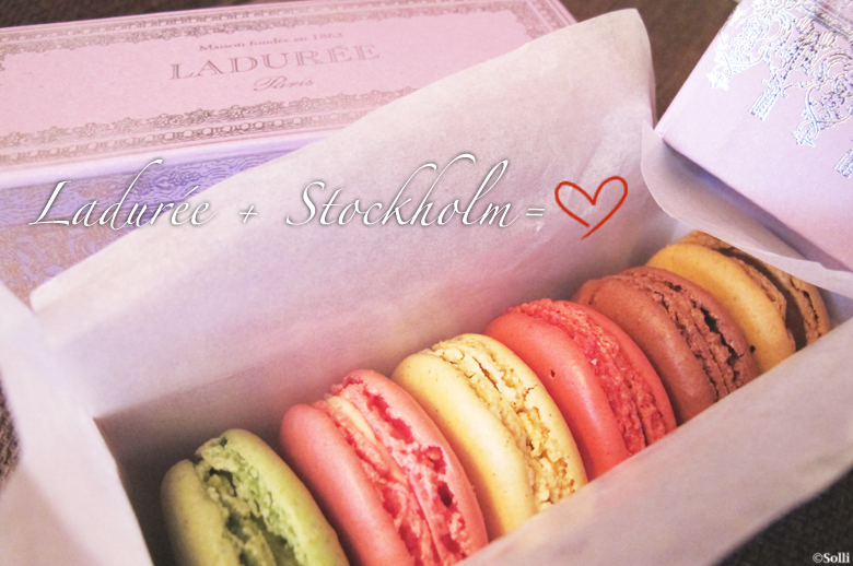Ladurée opening a boutique in Stockholm