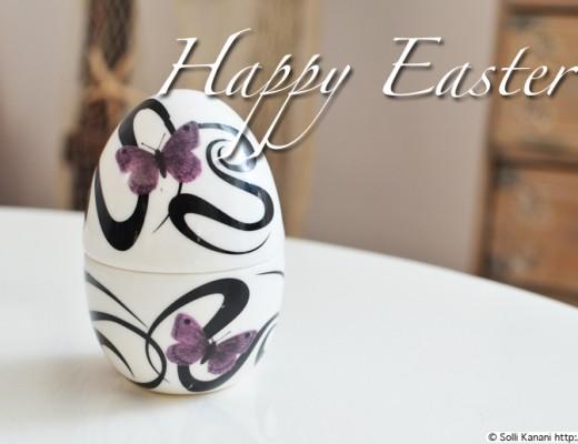 Easter egg porcelaine
