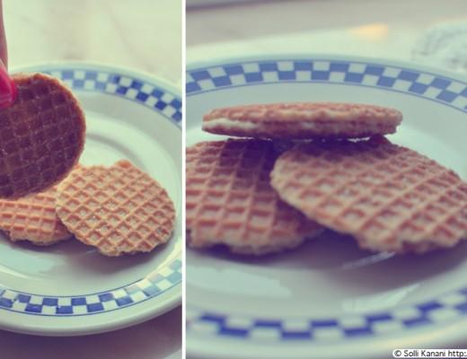 caramel waffle