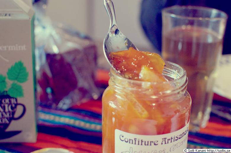 Orange & pumpkin marmelade