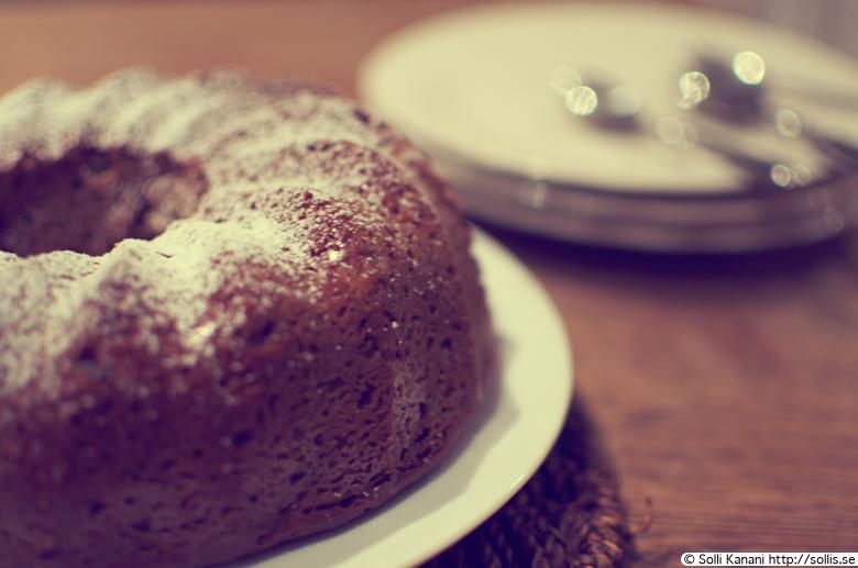 Soft Gingerbread Cake