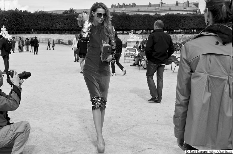 Paris Fashion Week 2012 Jardin des Tuileries