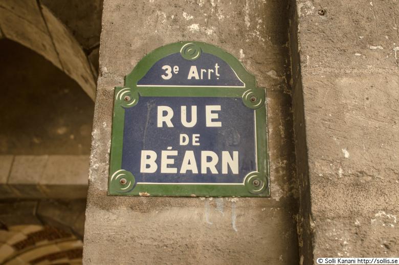 Rue de Béarn