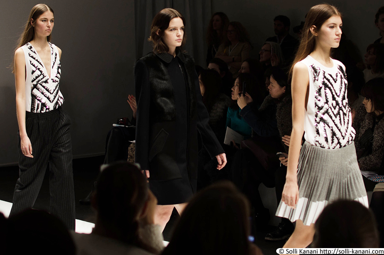 Vanessa Bruno AW 13 fashionshow at Grand Palais