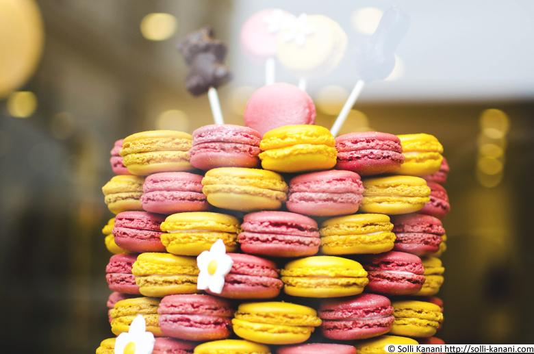 Arnaud Larher macarons in Paris