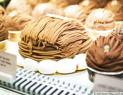 Mont Blanc at Angelina in Paris