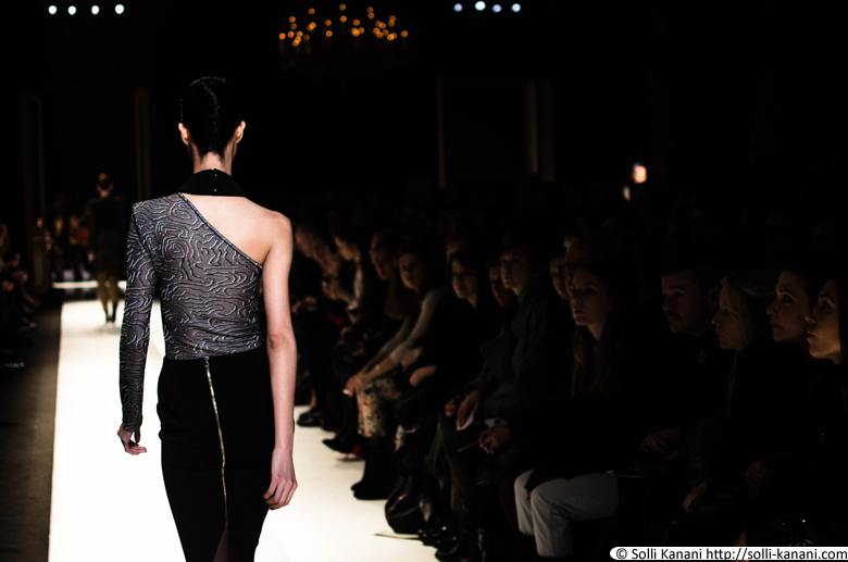 Roland Mouret AW13 at the Westin Hotel in Paris