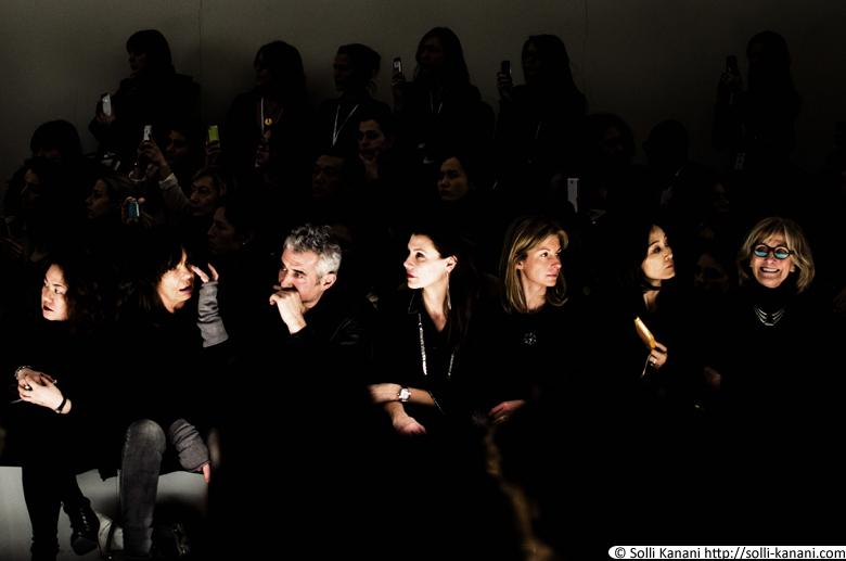 Vanessa Bruno fashionshow at Grand Palais