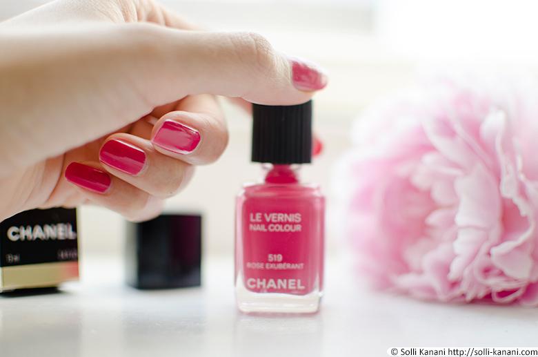 Chanel nailpolis Rose Exubérant