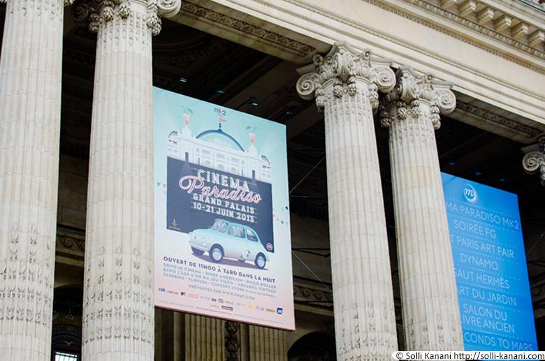 drive-in cinema paris grand palais