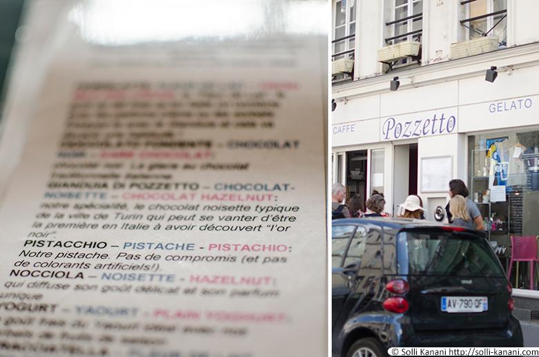 Pozzetto gelato in Paris