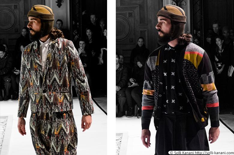 Henrik Vibskov AW14 fashionshow in Paris
