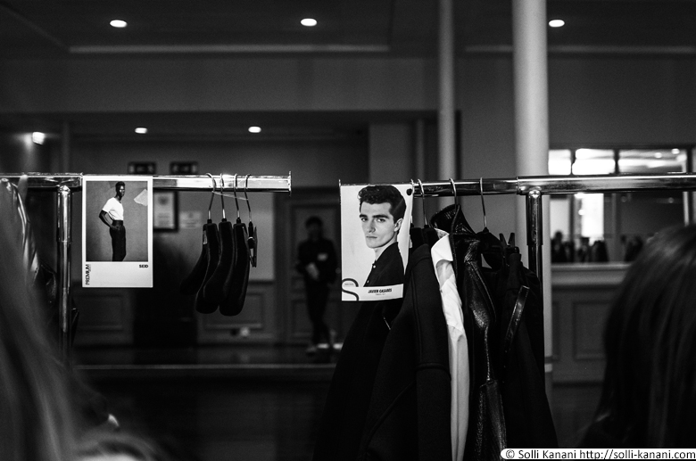 Songzio AW14 in Paris, backstage