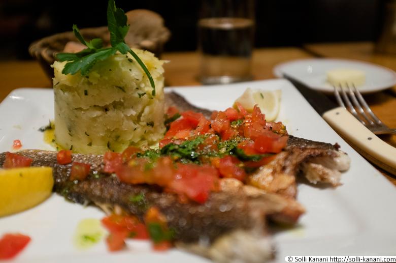 Dinner at Café Varenne