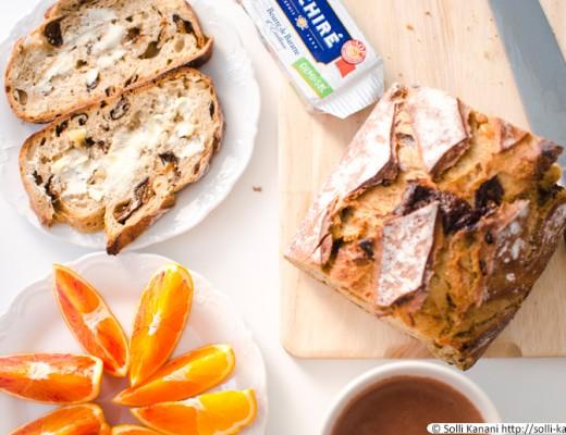 Sunday breakfast in Paris