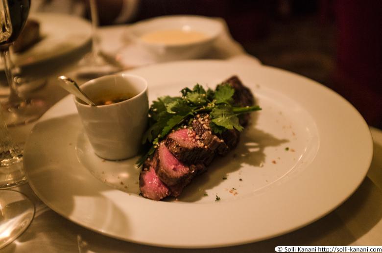 Dinner at Hôtel Costes