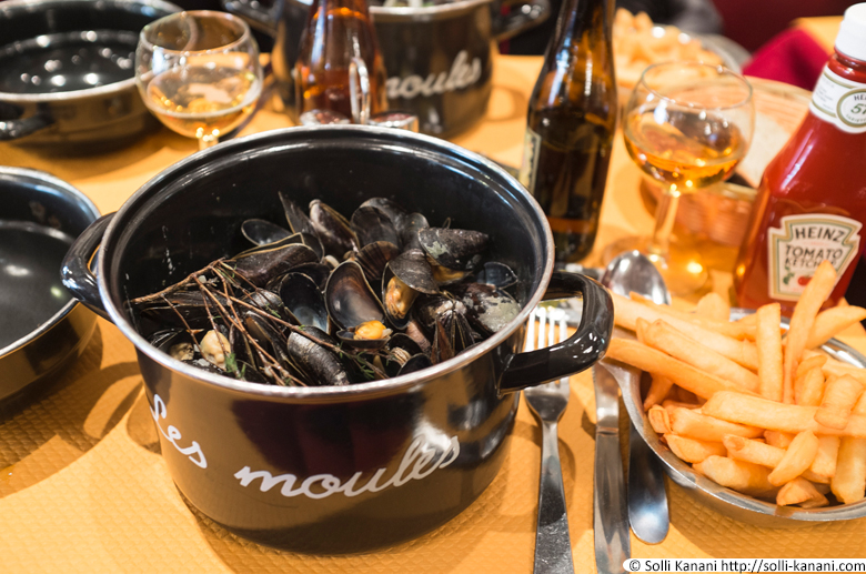 aux moules in Lille