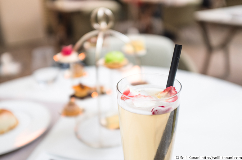 Tea Time Dior at Mandarin Oriental Hotel in Paris