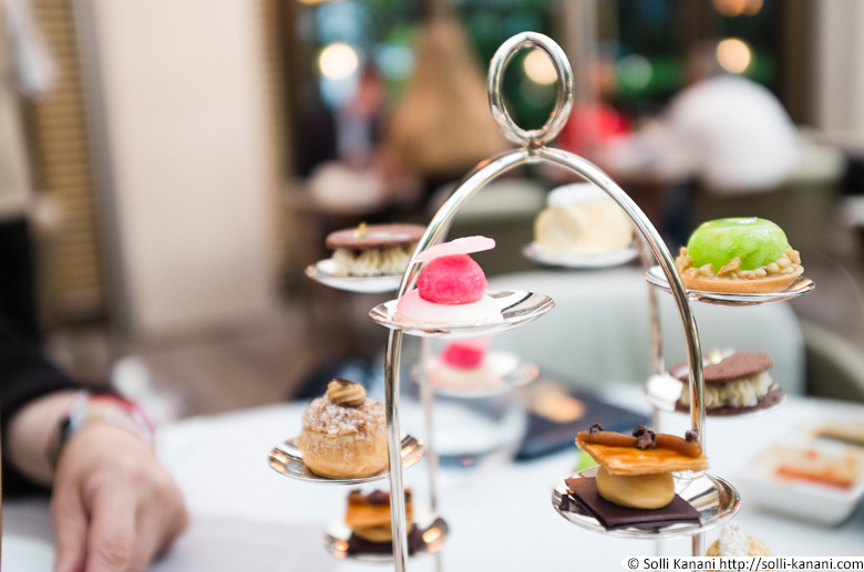 Afternoon Tea at Mandarin Oriental Hotel in Paris