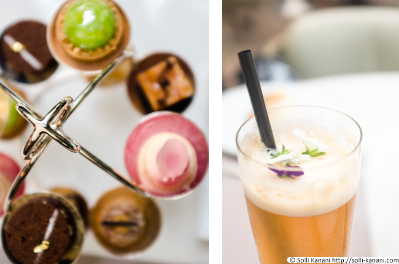 Tea Time at Mandarin Oriental Hotel in Paris
