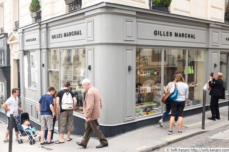Pâtisserie Gilles Marchal, 9 rue Ravignan