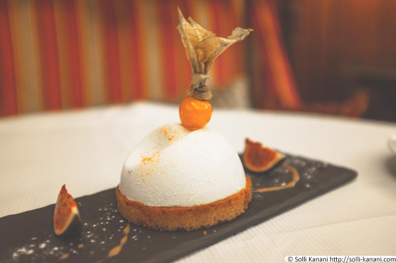 Dessert at Hôtel Napoléon Paris