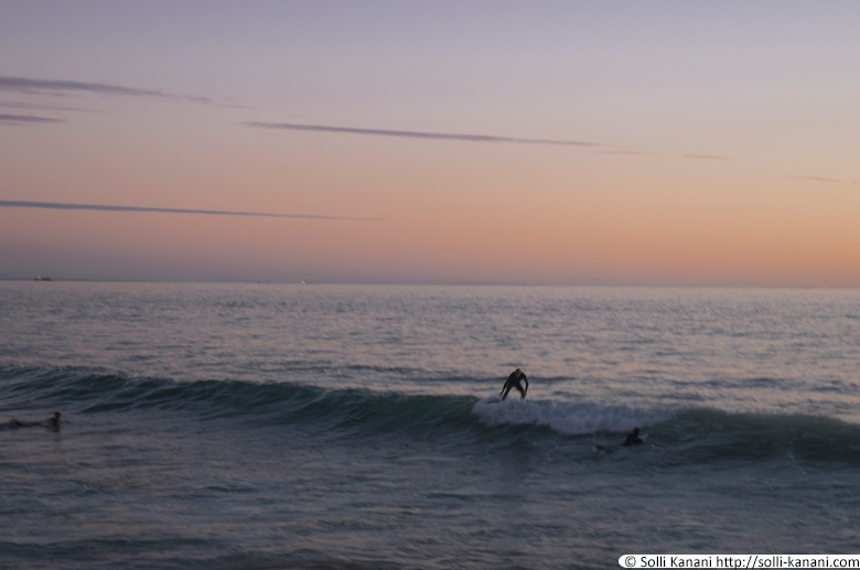 Surfing in Taghazout Bay