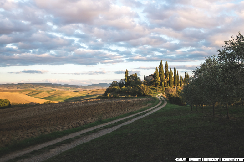 Podere Belvedere in Tuscany, Italy