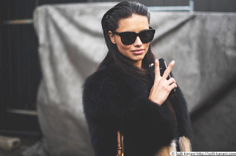 Adriana Lima in Paris