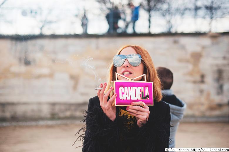 Candela Novembre in Paris