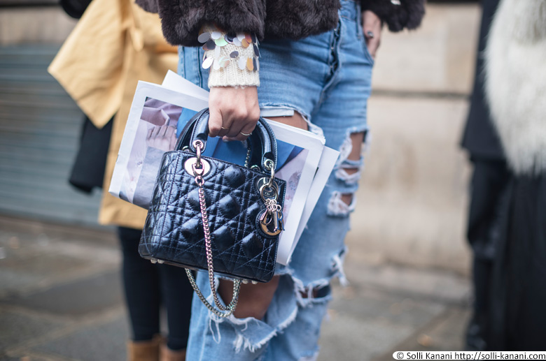 Trashy jeans streetstyle