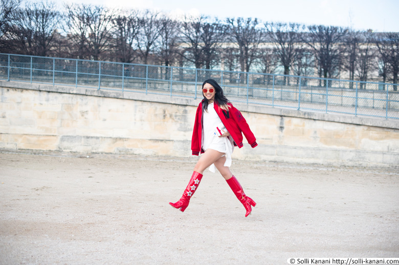 Paris streetstyle fashionweek