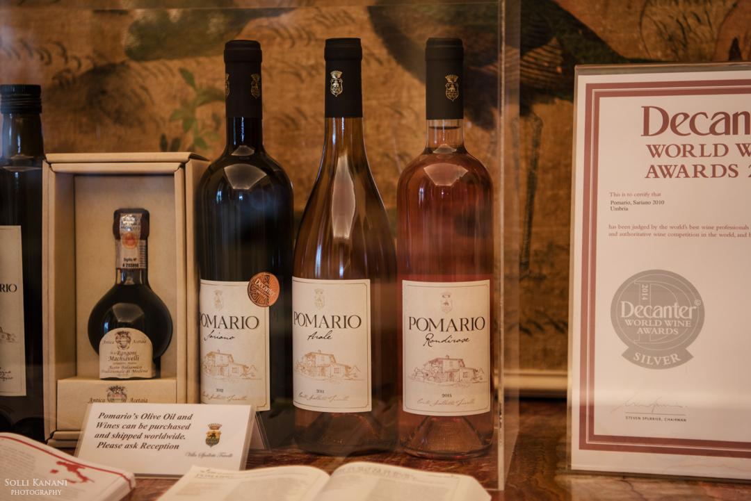 Award winning and organic wine from Pomario