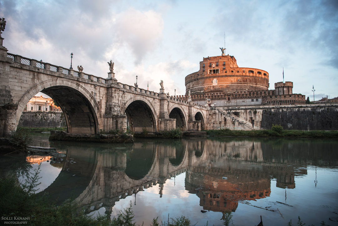 Ponte Sant-Angelo sunrise