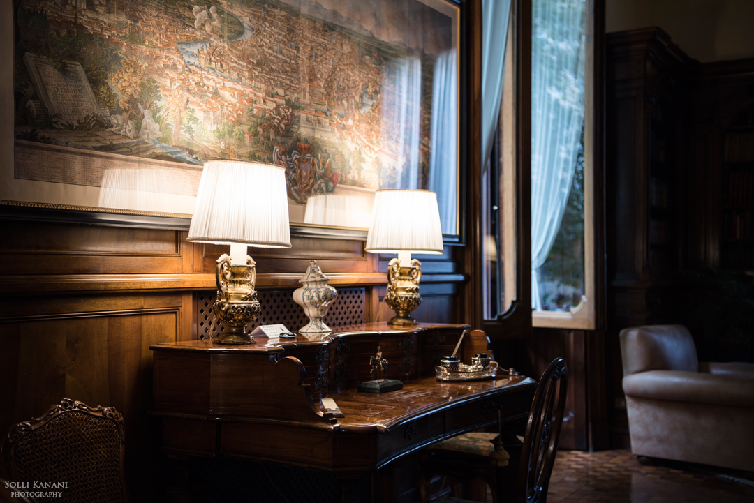 The Biblioteca della Villa - an Italian Heritage bond awarded library