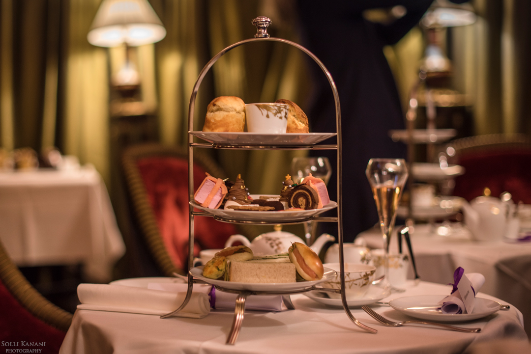 Christmas Afternoon Tea at l'Hotel in Paris