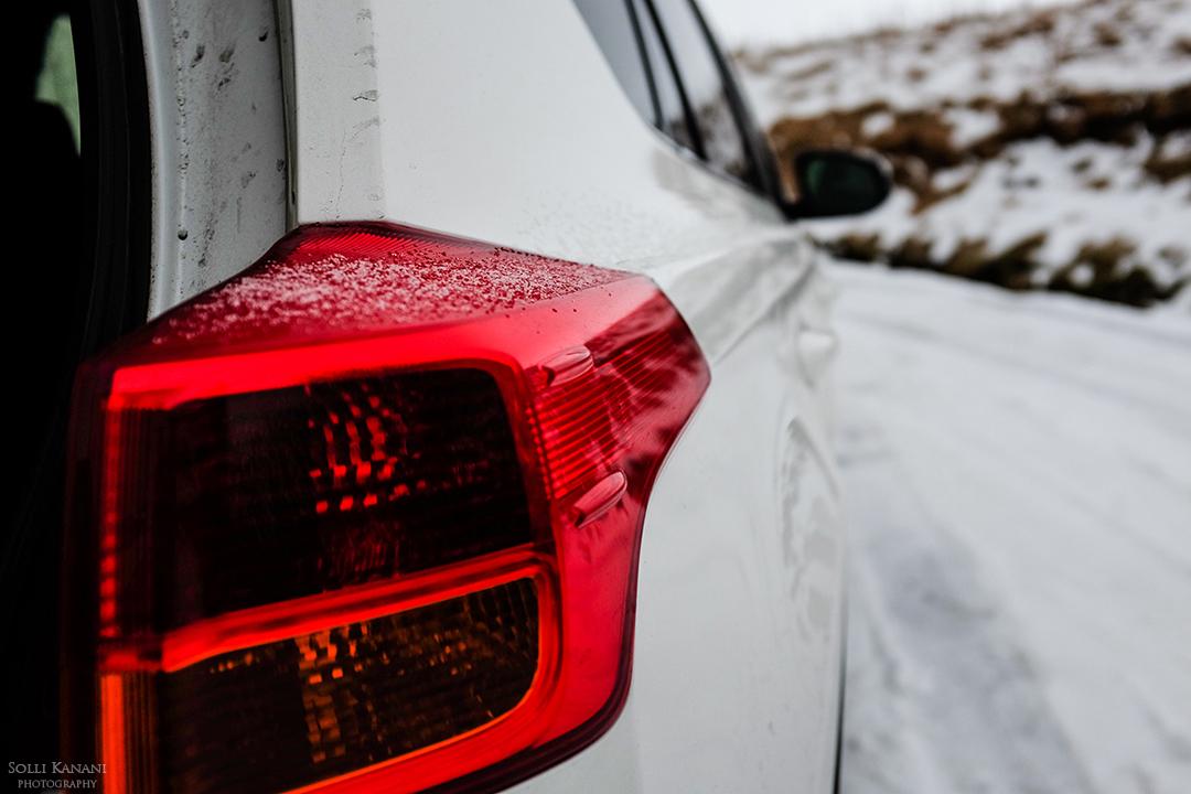 Toyota Rav4 in Iceland