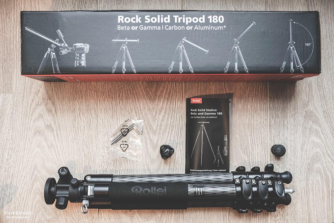 Rock Solid Tripod 180