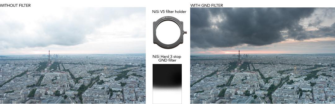 NiSi Hard GND filter test