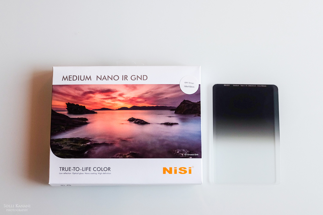 NiSi GND Medium filter