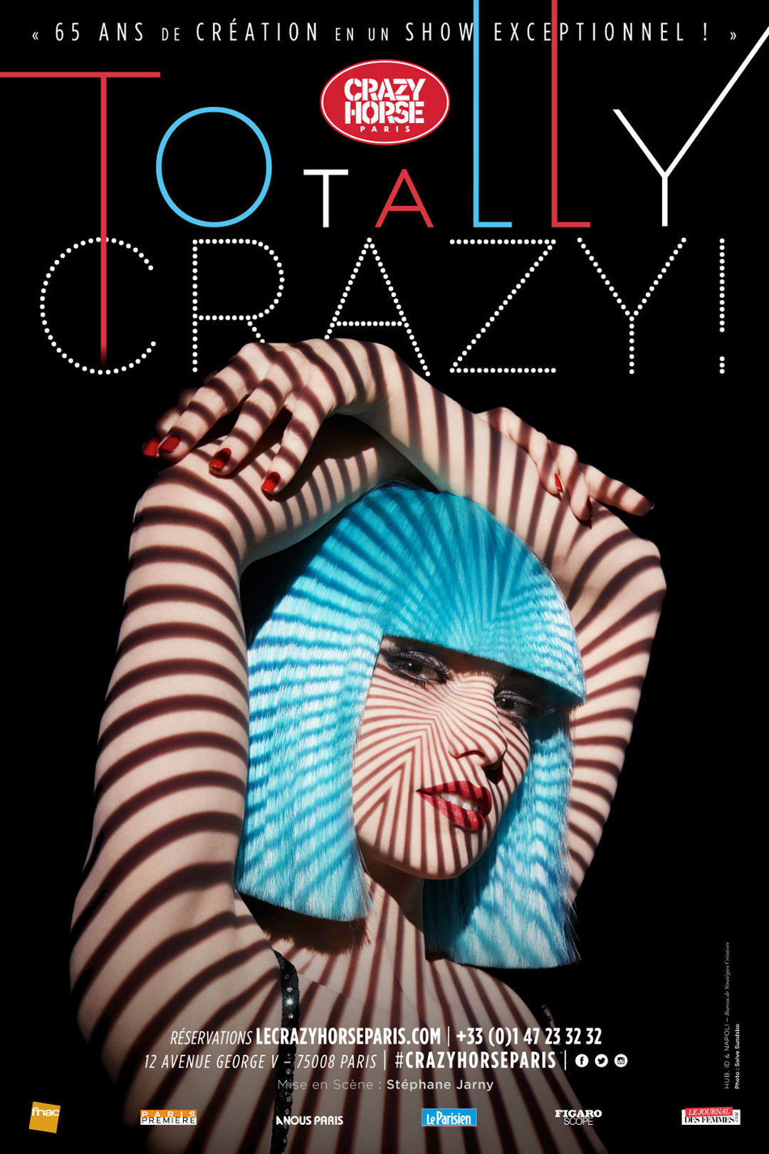 Totally Crazy show at Crazy Horse in Paris