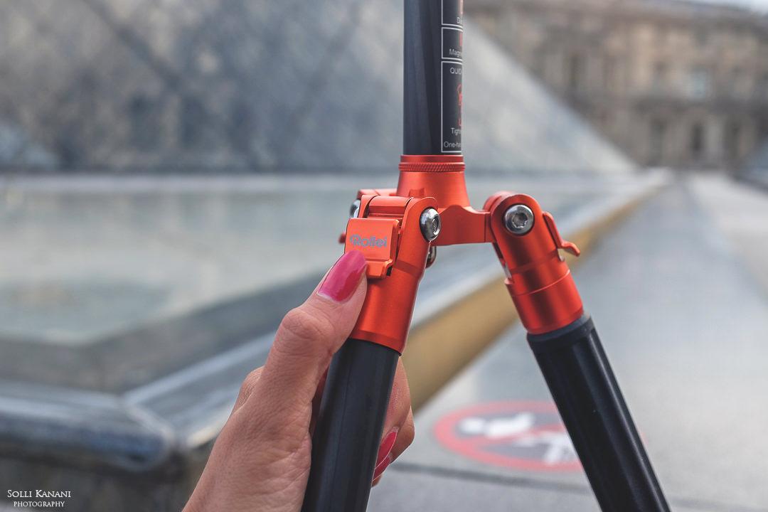 Rollei Compact Traveler Carbon Tripod