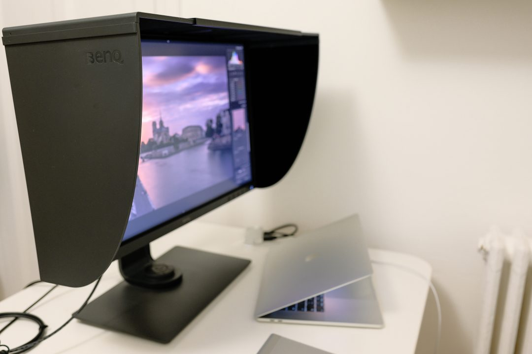 BenQ SW271 monitor suitable for photo-production