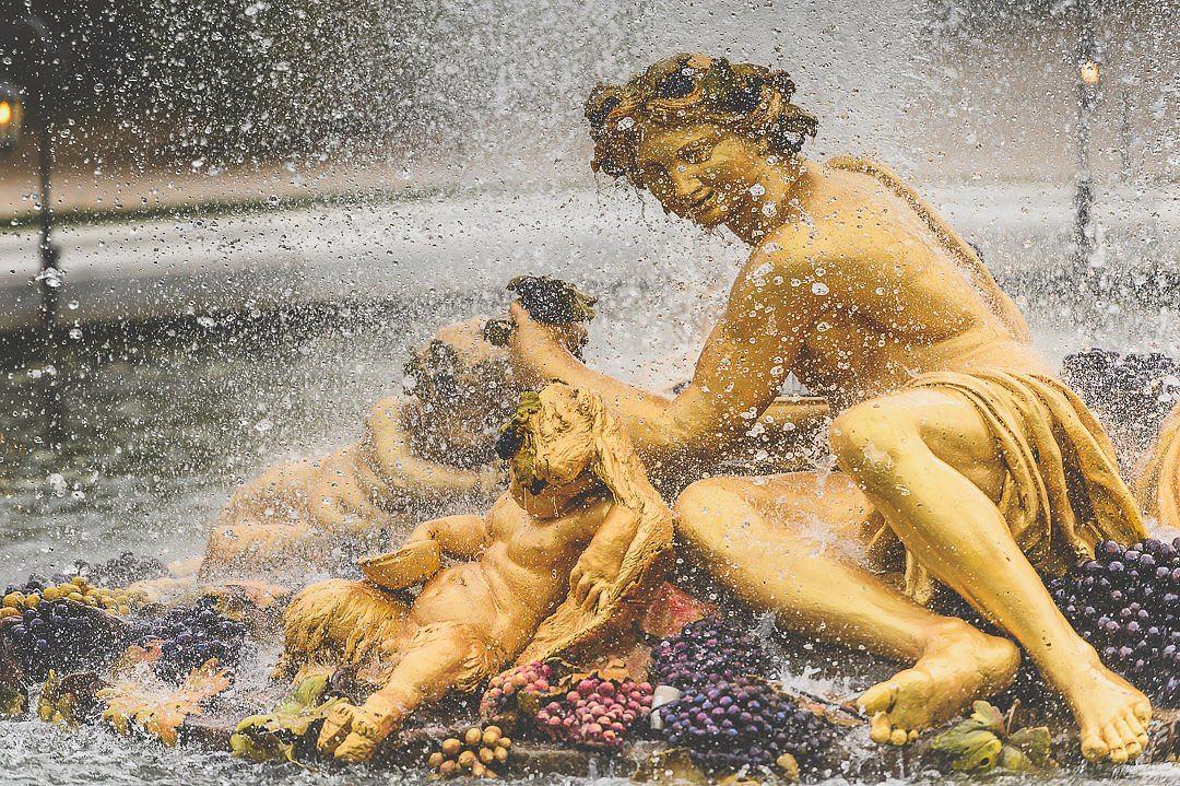Bacchus Fountain Versailles